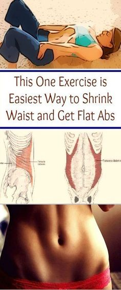 Vacuum in The Belly – Get a Thinner Waist and Flat Stomach With This Simple Exercise –