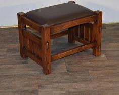 Oak Bookshelves, Oak Nightstand, Mission Furniture, Quarter Sawn White Oak, Farmhouse Kitchen Island, Oak Desk, End Tables With Storage, Walnut Stain, Solid Oak