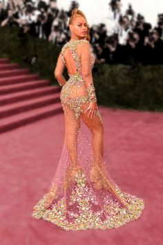 Beyoncé's Grammys Dress Is Basically Confirmed