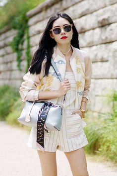 Olivia Lazuardy in RayBan Clubmaster  sunglasses  shades  fashion   streetstyle  bloggers   565f0652c88d1
