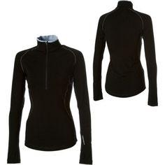 Icebreaker Express Zip Top - Long-Sleeve - Women's Black, S Icebreaker, Zip, Hoodies, Pack List, Long Sleeve, Sweaters, Stuff To Buy, Clothes, Black