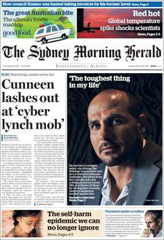 #20160315 #AUSTRALIA #SYDNEY Tuesday MAR 15 2016 #SMH #TheSydneyMorningHerald http://en.kiosko.net/au/2016-03-15/np/sydney_morning_herald.html