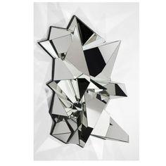 Mathias Kiss, Froisse Mirror (2012), via Artsy.net