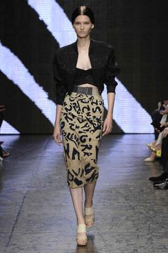 Donna Karan Spring 2015 RTW – Runway – Vogue