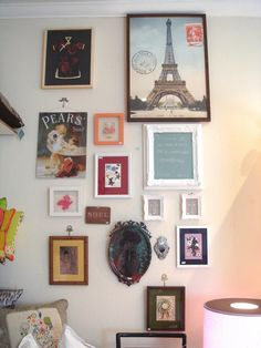Mix de quadros na parede | decorando com artesanato ~ Arte De Fazer | Decoração e Artesanato