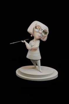 Disney maquette sculptures by artist Kent Melton Zbrush, Disney Concept Art, Disney Art, Character Modeling, Character Art, Statues, 3d Figures, 3d Prints, Sculpture Clay