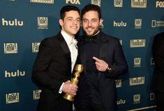 Rami and Sami! Sami Malek, Rami Said Malek, Mr Robot, Queen Freddie Mercury, Teen Choice Awards, Twin Brothers, Hollywood Star, Golden Globes, Celebs