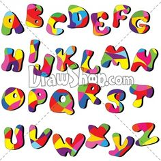 Christmas Alphabet Clip Art | Join us at..