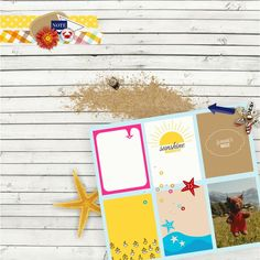 "www.pixelscrapper.com ""Sand and the Beach"" kit designed by Elif"