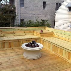Deck Bench Seat - Yelp