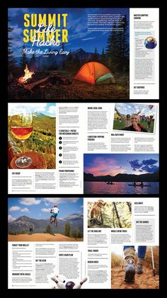 New travel guide books layout editorial design ideas Magazine Layout Design, Book Design Layout, Magazine Layouts, Yearbook Layouts, Yearbook Spreads, Yearbook Ideas, Newspaper Layout, Magazin Design, Web Design