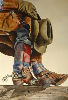 Made in Texas - Nelson Boren - 2010 Spring Art Classic Set Price . Cowboy Horse, Cowboy Art, Cowboy And Cowgirl, Westerns, Rodeo Cowboys, Western Crafts, Southwestern Art, Vintage Cowgirl, Dorm Art