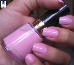 My new nail color, it needs 3 coats to be pretty, worth the time! Pink Chiffon - Revlon
