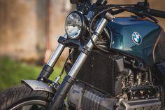 """BMW K100RS Custom Roadster """"Fat Kat"""" by Woidwerk.com"""