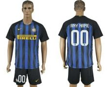 Inter Milan Personalized Home Soccer Club Jersey