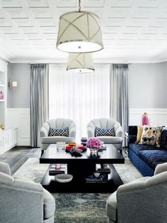 Formal living room from Art Deco home in Sydney's eastern suburbs by interior designer Greg Natale. Photography: Anson Smart | Story: Belle
