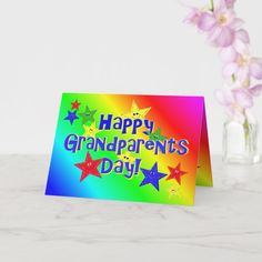 Grandparents Day Cards, Grandma Cards, Personalized Gifts For Men, Customized Gifts, Custom Gifts, Valentine Crafts For Kids, 50th Birthday, Birthday Ideas, Custom Greeting Cards