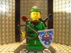 LEGO and ZELDA??? By Michael Inglis
