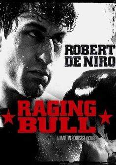 Raging Bull (1980) Robert De Niro won an Oscar for his portrayal of self-destructive boxer Jake LaMotta in Martin Scorsese's widely acclaimed biopic, which paints a raw portrait of a tormented soul unable to control his violent outbursts. Marked by De Niro's powerful performance and Scorsese's gritty, black-and-white realism, the film also launched the Hollywood careers of Joe Pesci and Cathy Moriarty, who each received an Oscar nomination.