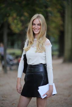 Street-Style Spotlight: Models Jam - Gallery - Style.com