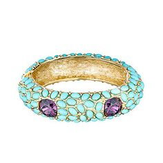 Coral Reef Bangle by Kenneth Jay Lane