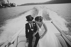 A beautiful real #wedding on Lake Orta, #Italy by @purewhitephoto