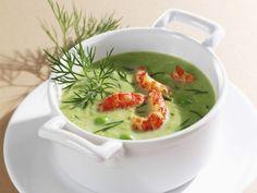 Erbsensuppe mit Flusskrebsen ist ein Rezept mit frischen Zutaten aus der Kategorie Krebs. Probieren Sie dieses und weitere Rezepte von EAT SMARTER!