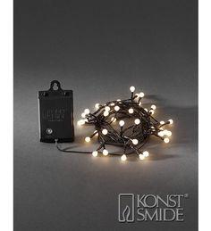 Konstsmide 3740-100 Marjat 40-osainen LED-paristosarja | Karkkainen.com verkkokauppa