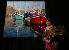 Cynthia England', A Houston-area woman has won the top prize at the world's largest quilt show -- the 2016 International Quilt Festival -- for the third time. The quilt show runs Nov. 3-6 at the George R. Brown Convention Center.