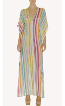 Missoni Rainbow Stripe Long Caftan