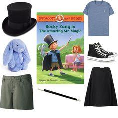 costume based on rocky zang the amazing mr magic of judy moody - Judy Moody Halloween Costume