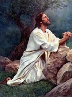 Jesus In Prayer Cross Stitch Patternlook Instant Download
