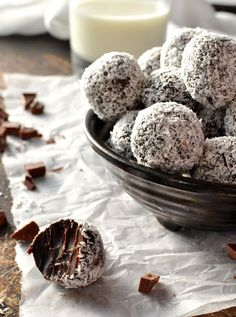 Classic Chocolate Ganache Truffles - maximum decadence for minimum effort with a unique tip for making these with minimum mess (no special equipment required!)