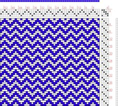Hand Weaving Draft: Figure 624, A Handbook of Weaves by G. H. Oelsner, 4S, 4T - Handweaving.net Hand Weaving and Draft Archive