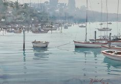 Zbukvic, Joseph, 'Tranquil Morning, Lavender Bay'