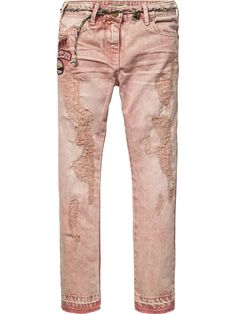 Bleached Pants | Pants | Girl's Clothing at Scotch & Soda