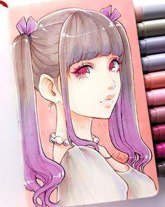 Judging by my works, what would you say my favourite colour is? *  Kto zgadnie jaki jest moj ulubiony kolor?  _ patreon.com/Ladowska