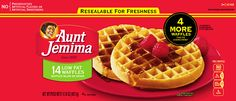 Pinnacle Foods Inc. Voluntarily Recalls Aunt Jemima Frozen Pancakes, Frozen Waffles & Frozen French Toast Slices Due to Possible Listeria Contamination