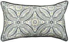 Jiti Emblem Outdoor Throw Pillow