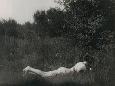 Imogen Cunningham    Self-portrait, 1906    From Imogen Cunningham 1883 - 1976