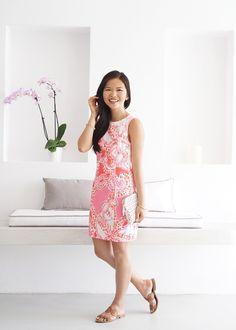 Summer Vacation Outfit / Lilly Pulitzer Mila Shift Dress #resort365 #summerinlilly