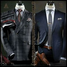 Men's fashion...there is nothing more sexy than a well dressed man. CORRECTION a confident well dressed man