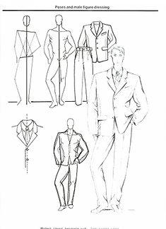 Mens Suit - Jacket - Fashion Design