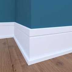 x Primed MDF Baseboard Moulding (Actual: x at Lowes. Craftsman x Primed MDF Baseboard Moulding (Actual: x at , Craftsman x Primed MDF Baseboard Moulding (Actual: x at , & zoclo blanco moderno -The Metro Collection: Base Base, Modern Sho. Baseboard Styles, Baseboard Molding, Floor Molding, Shoe Molding, Moldings And Trim, Crown Molding, Baseboard Ideas, White Baseboards, Modern Baseboards