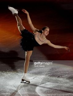 Carolina Kostner of Italy performs during the ISU World Figure Skating Championships World Champions Gala on April 1, 2012 in Nice, France.
