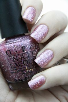 OPI Teenage Dream ~ I love it alone or on other colors. So cute!