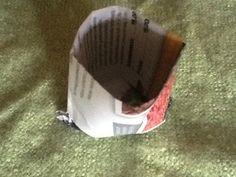 Narrin tontilla, tee paperista istutusruukku, paper pots
