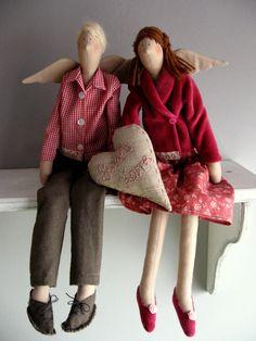 текстильные куклы Тильда
