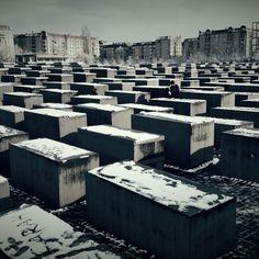 #Berlin #memorial #snow