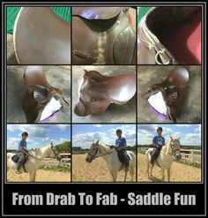 From Drab to Fab Saddle Fun / http://thestuffofsuccess.com